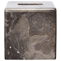 Marble Tissue Box Selected by Interior Designer Kelly Wearstler for the Viceroy