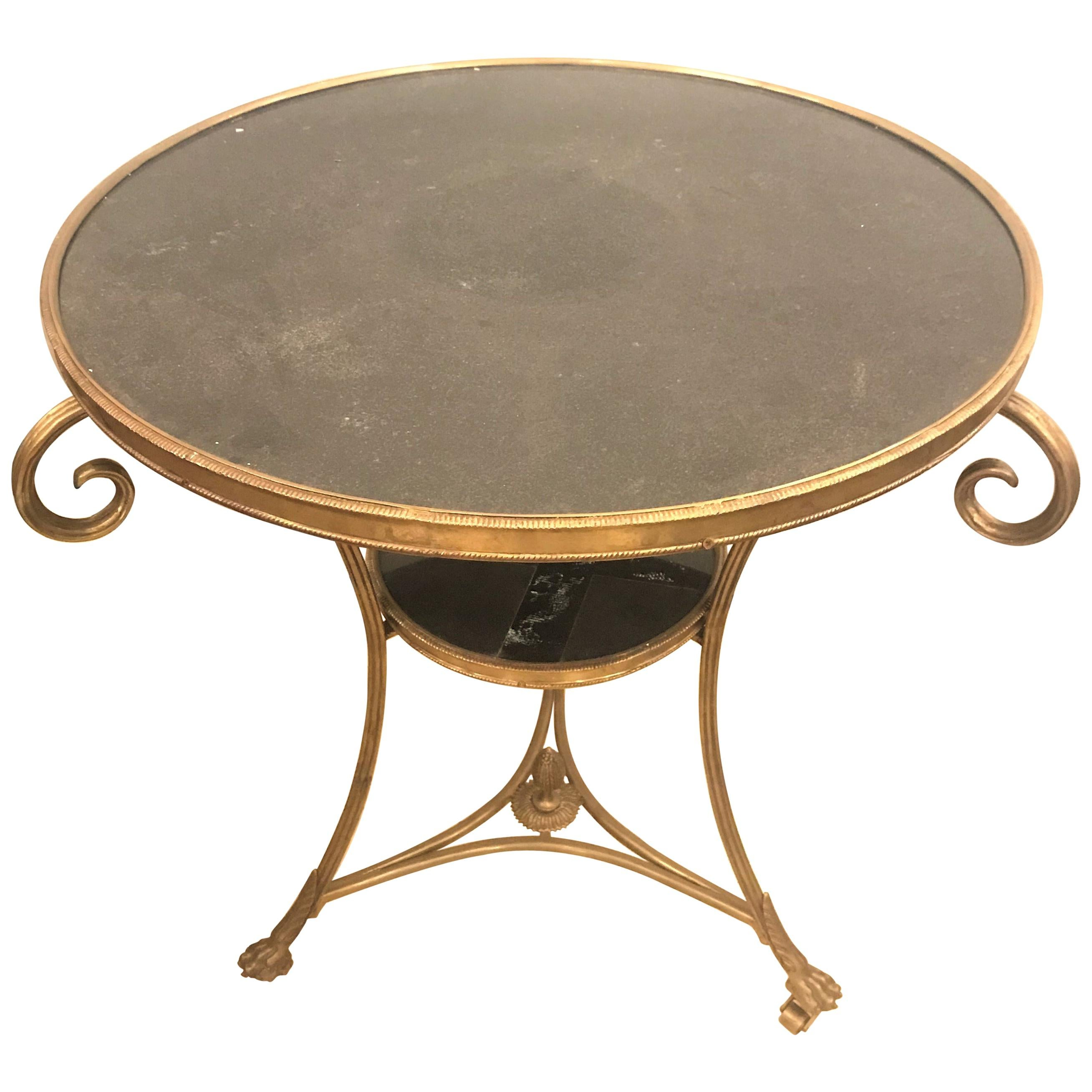 Marble Top Centre Table Gueridon For Sale At 1stdibs