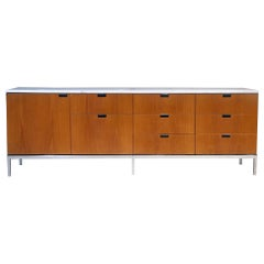 Marble-Top Credenza by Florence Knoll