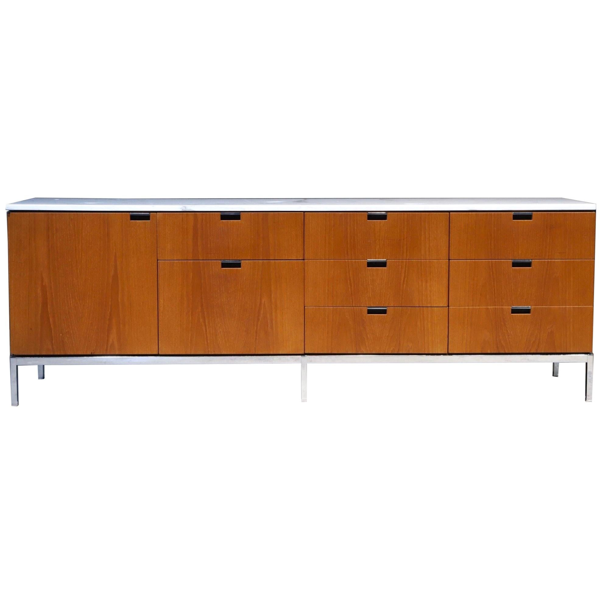 Marble Top Credenza by Florence Knoll