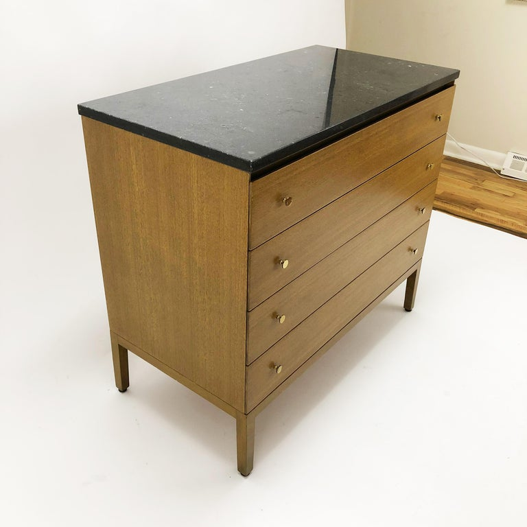 20th Century Marble-Top Dresser by Paul McCobb for Calvin