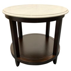 Marble-Top Side Table by Baker Furniture Company