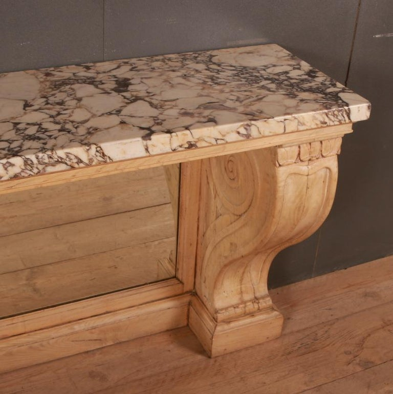 Marble Topped Console Table For Sale 1