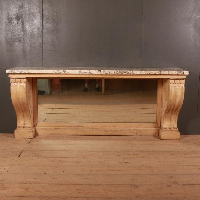 Marble Topped Console Table For Sale 2