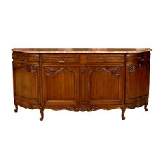 Marble-Topped Sideboard