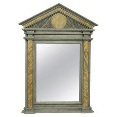 Marbled Roman Style Mirror