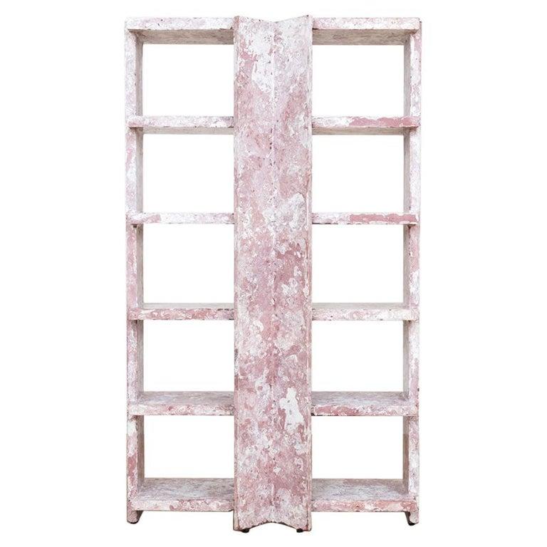 Marbled Shelf by Ross Hansen For Sale