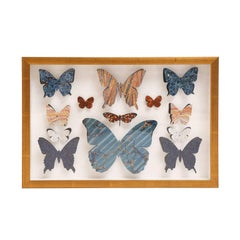 Marbleized Paper Butterfly Box