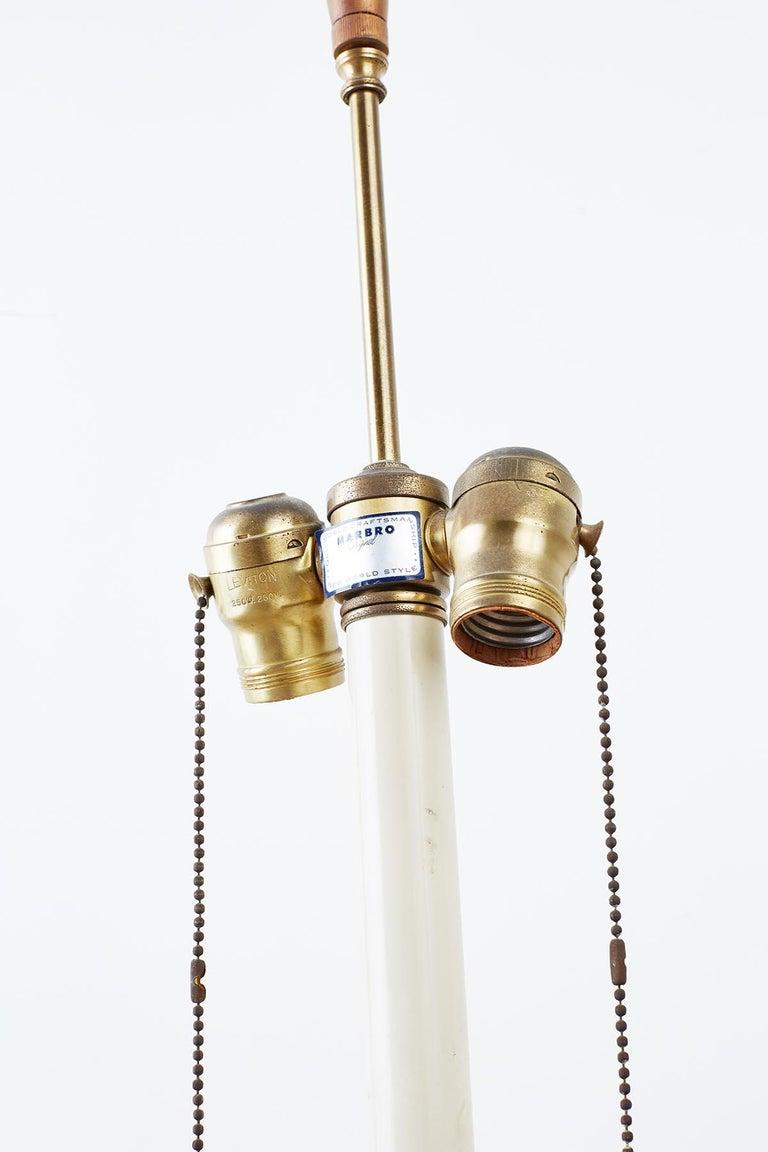 Marbro Venetian Style Giltwood Column Table Lamp For Sale 6