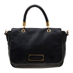 Marc by Marc Jacobs Black Leather Lea Crossbody Bag