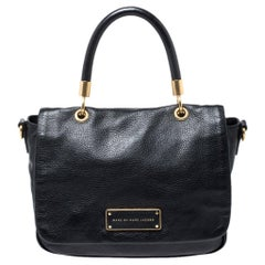 Marc by Marc Jacobs Black Leather Too Hot to Handle Top Handle Bag