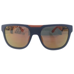 Marc by Marc Jacobs blue and orange sunglasses NWOT