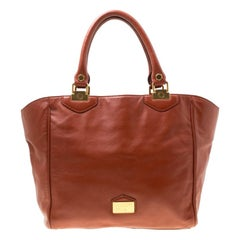 Marc By Marc Jacobs Brown Leather House Of Hayley Tote