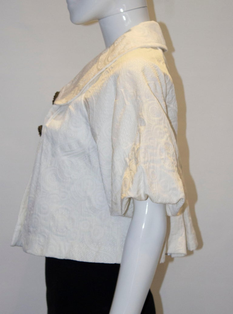 Marc by Marc Jacobs Cotton Jacket For Sale 1