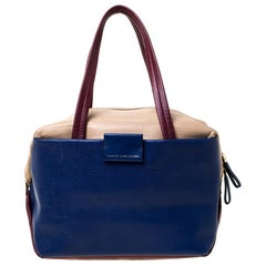Marc by Marc Jacobs Multicolor Leather Sheltered Island Satchel