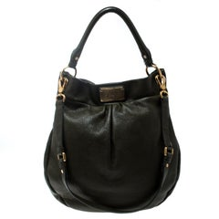 Marc by Marc Jacobs Olive Green Leather Classic Q Hillier Hobo