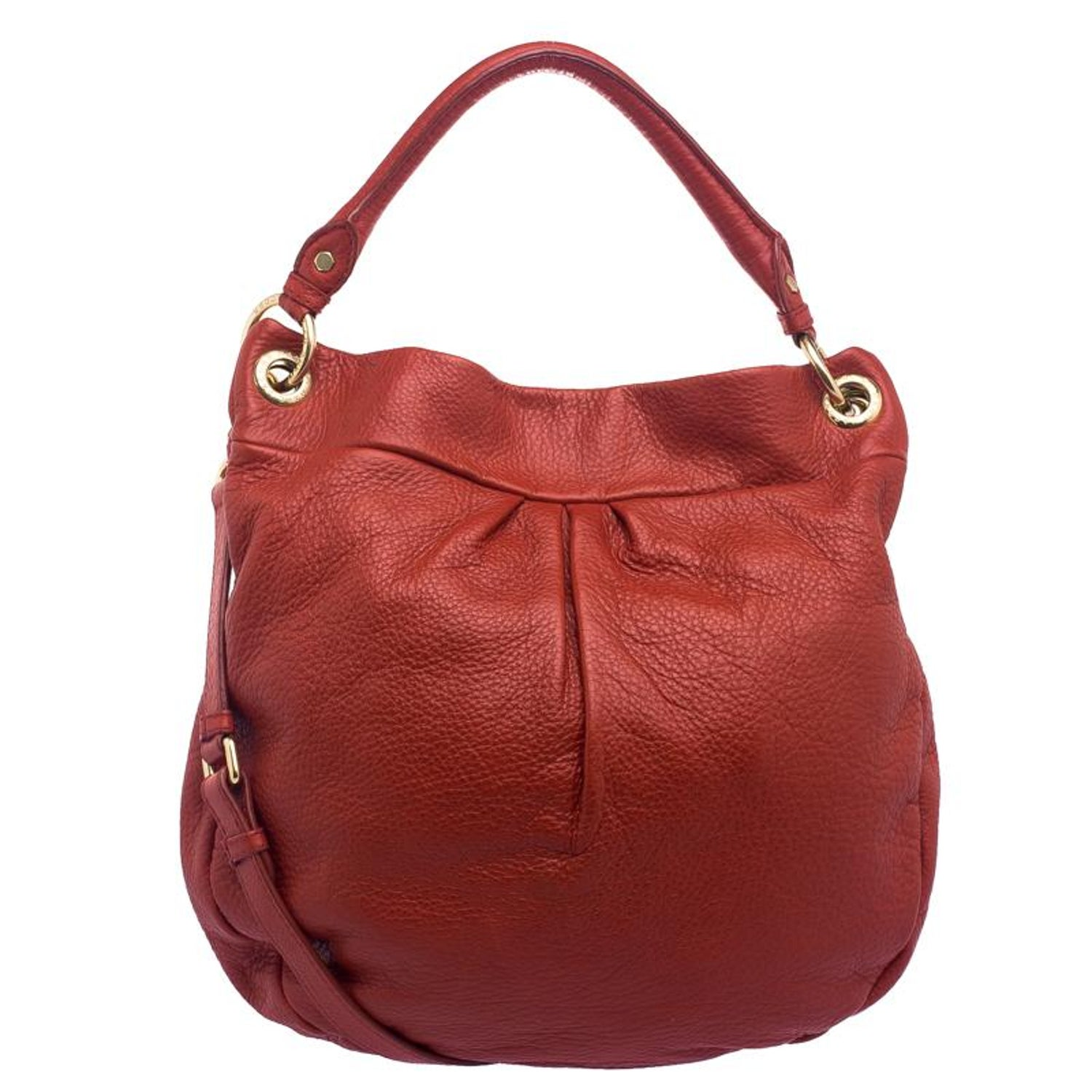 3a17e5dd686 Marc by Marc Jacobs Red Leather Classic Q Hillier Hobo For Sale at 1stdibs