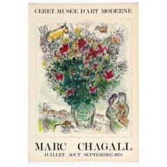 Vintage Poster Original Marc Chagall 1978 Céret Musée d'Art Moderne Poster