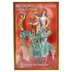 Marc Chagall Lithograph for The Metropolitan Opera