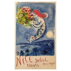 Marc Chagall, 'Nice Soleil' Original Vintage Poster
