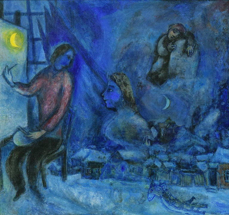 Hommage au Passé ou la Ville by Marc Chagall - School of Paris, Modern Art 1