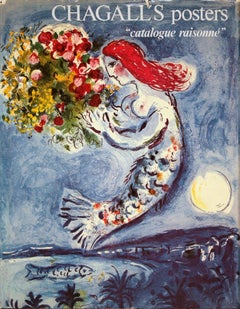 1975 After Marc Chagall 'Marc Chagall's Posters Catalogue Raisonne' Modernism