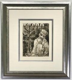 """Marc Chagall """"Aaron et le chandelier Sorlier  238"""""""