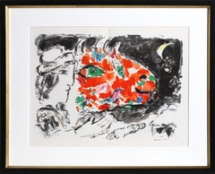 After the Winter, Lithograph by Marc Chagall