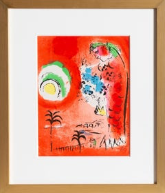 Angel Bay, Framed Lithograph by Marc Chagall 1960