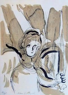 Angel with Sword, from: The Bible  L'ange à l'épée