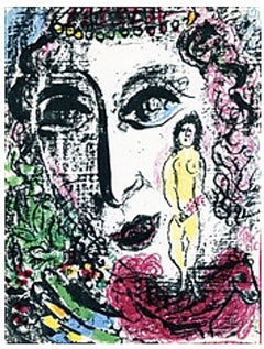 Apparition at the Circus from Chagall Lithographs I