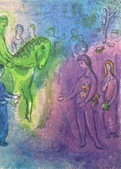 Arrival of Dionysophanes, Daphnis & Chloe 1977 Limited Edition, Marc Chagall