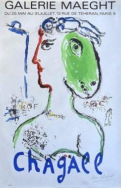Artist Phoenix - Handsigned Original Lithograph Poster - Mourlot
