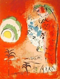Bay of Angels from Chagall Lithographs I