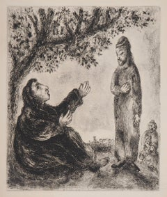 Bible: Deborah the Prophetess, 1958 - Original Etching