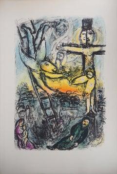 Bible : Vision of Jacob - Original lithograph (Mourlot #625)