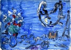 Bird-Woman  Femme-oiseau - French, Russian Art