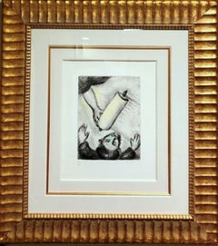 "Marc Chagall ""Calling of Ezekiel"""