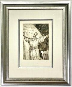 """Marc Chagall """"Cantique de David Sorlier 272"""""""