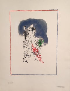 Chagall's Lithograph from the Flight Deluxe Portfolio