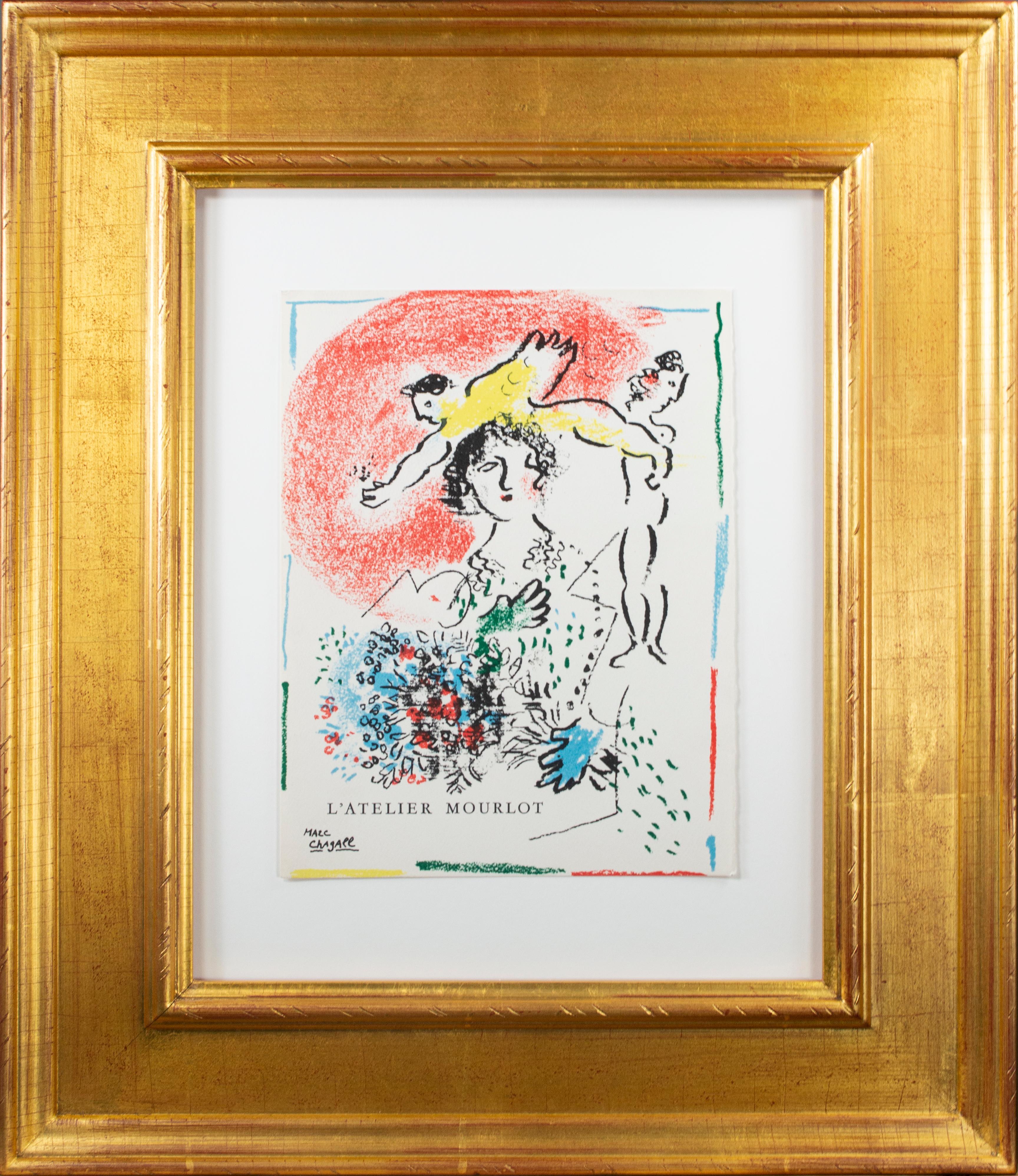 Cover for Lithographies de l'Atelier Mourlot, original Marc Chagall lithograph
