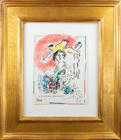 Cover for Lithographies de l'Atelier Mourlot, original Marc Chagall lithograph