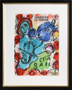 Cover from Derriere Le Miroir, Modern Print by Marc Chagall