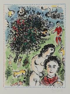 Dans le Jardin, Limited edition lithograph