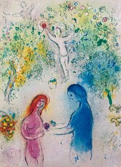 """Daphne and Chloe,"" Daphnis et Chloé (Cramer 46)"