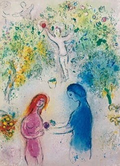 Daphnis and Chloe, Daphnis & Chloe 1977 Limited Edition, Marc Chagall