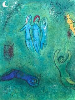 """""""Daphnis' Dream and the Nymphs,"""" Daphnis et Chloé (Cramer 46)"""