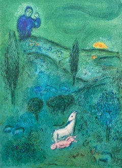 Discovery of Daphnis by Lamon, Daphnis & Chloe 1977 Limited Edition Marc Chagall