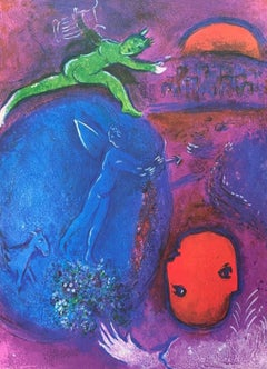 Dream of Lamon and Dryas, Daphnis & Chloe 1977 Limited Edition, Marc Chagall
