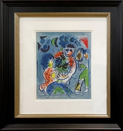 Frontispiece for Chagall Lithographs Vol.III
